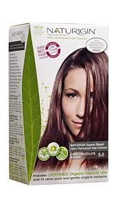 Hair Dye Light Chocolate Brown 5.0