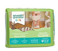 Seventh Generation Training Pants - 3T- 4T (32- 40 lbs) [22ct]