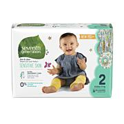 Baby Diapers Seventh Generation - Stage 2, 36ct Old Packing (12-18 lbs) [36ct]