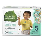 Baby Diapers Seventh Generation  - Stage 5(27+ lbs) [23ct]