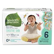Organic Baby Diapers Seventh Generation - Stage 6 Diapers (35+ lbs.) [20ct]