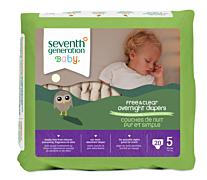Seventh Generation Baby Diapers - Stage 1, 40ct (8-14 lbs) [40ct]