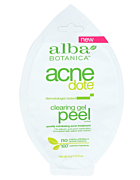 Natural ACNE Dote Gel Peel Mask, Single Use