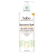 Babo Botanicals Natural Sensitive Baby Shampoo & Wash Natural and Organic Products Online in Hong Kong at Serendipity House