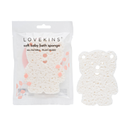 Lovekins Natural Soft Baby Bath Sponges at Serendipity House