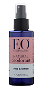 Rose & Lemon Spray Deodorant 4oz