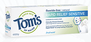 Rapid Relief Sensitive Toothpaste - Fresh Mint