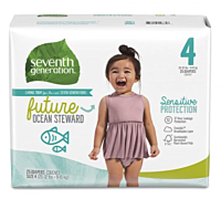 Baby Diaper Size 4 Sensitive Protection 25ct