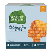 Seventh Generation Chlorine Free Liners 100 Count in Hong Kong